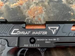 Markings TTI Combat Master